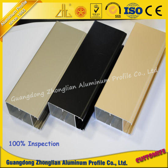 New Products Aluminium Extrusion Profile with Matt Electrophoresis pictures & photos