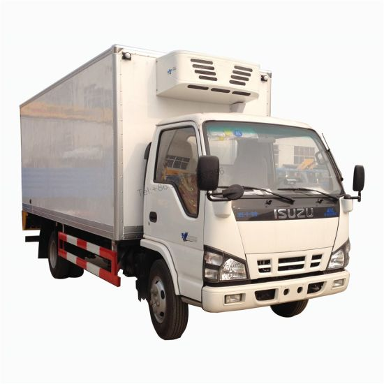 Isuzu 600p 4X2 6tons 5tons Independent Refrigerated Unit Thermo King Freezer Cooling Refrigerator Truck