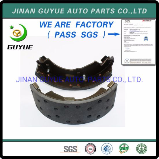 for FAW HOWO Shacman Dongfeng Beiben Foton Truck Spare Parts Brake Shoe