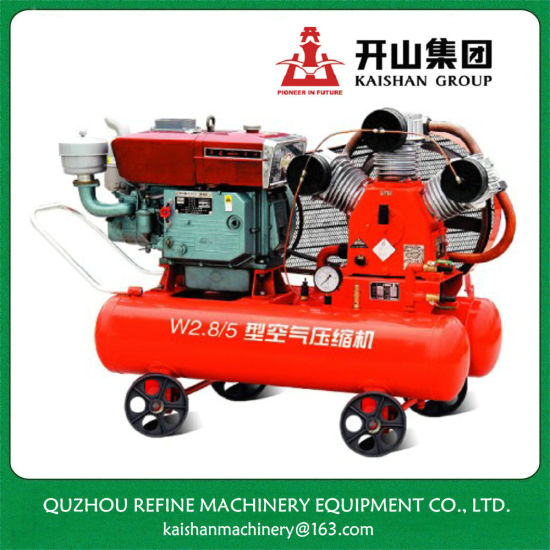 China Kaishan 20HP Diesel Portable Compressor for Jack Hammer W-2.8/5 pictures & photos