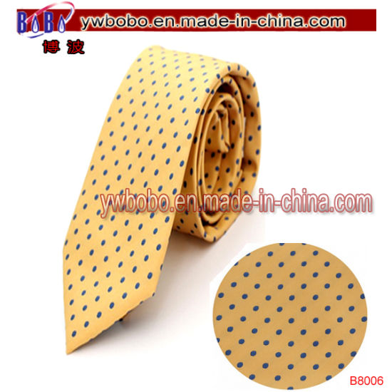 Silk Necktie Polyester School Ties Neckwear Cable Accessories (B8006) pictures & photos