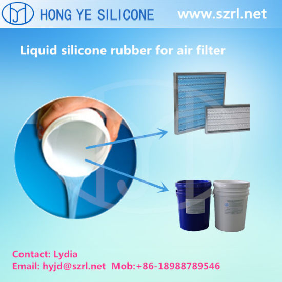China Liquid Potting Silicone Rubber for Cassette Filters 5 Shore a