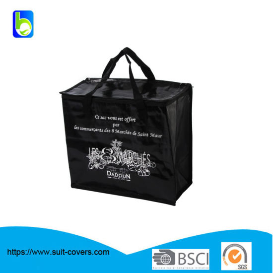PP Woven Insualted 6 Cans Cooler Bag
