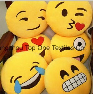 Hot Selling Comfortable and Soft Custom Plush Emoji Pillows pictures & photos