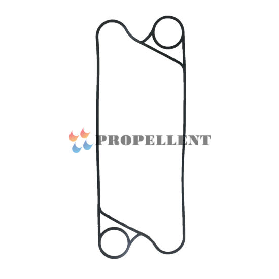 Refrigreation Heat Exchanger Parts Gasket for Ts6m Ts20m Ts35p Plate Heat Exchanger with Titanium Stainless Steel 316 304