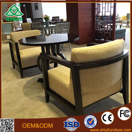 The New Chinese Woodmensal Sales Offices Negotiation Table and Chair Cloth Chairs & The New Chinese Woodmensal Sales Offices Negotiation Table and Chair ...
