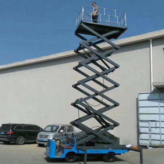 Customized Working Height Air Scissors Hydraulic Lift Platform/Scissor Lift