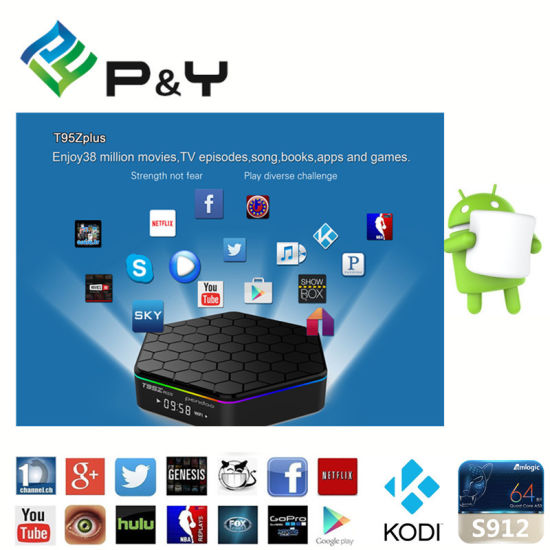 China Full Loaded Kodi Pendoo T95z Plus Streaming TV Box - China