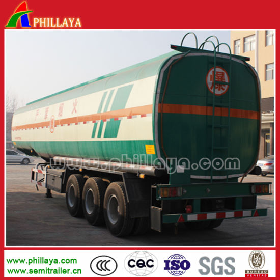 Steel Oil Tank 3 Axles 45000 Liters Fuel Tanker Trailer pictures & photos