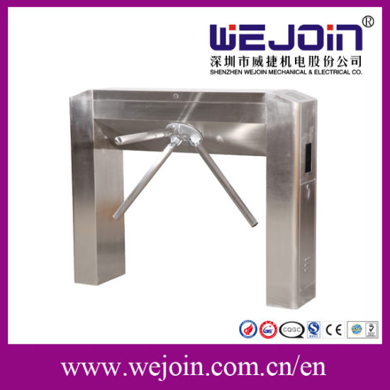 Stainless Steel Automatic Tripod Turnstile Use Facial Recognition Device pictures & photos