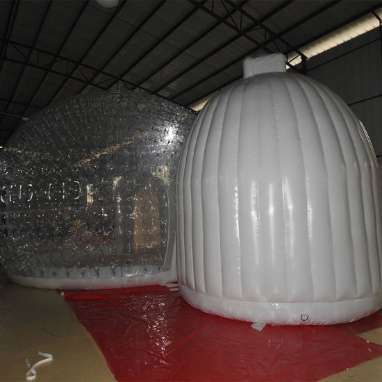 Inflatable Outdoor Sealed Blow Pop up Transparent Tent