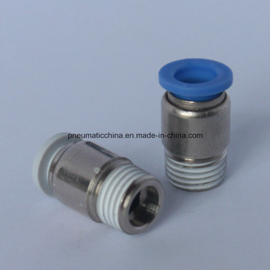 Air Fitting, Push in Fitting, Pneumatic Fitting pictures & photos