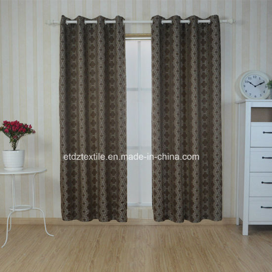 Trends Embroidery Modern Designs Curtain Fabric pictures & photos