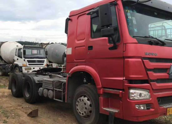 HOWO Tractor Truck 6X4 Used Truck with 10 Wheels for Nigeria