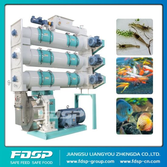 Sinking Fish Feed Pellet Press Machine with Ce/ISO pictures & photos
