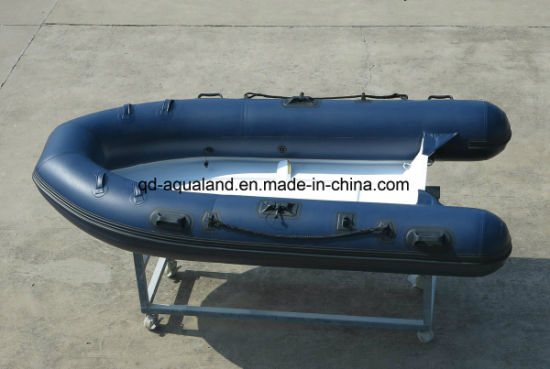 Aqualand 10feet 3m Rib Motor Boat/Rigid Inflatable Fishing Boat (RIB300) pictures & photos