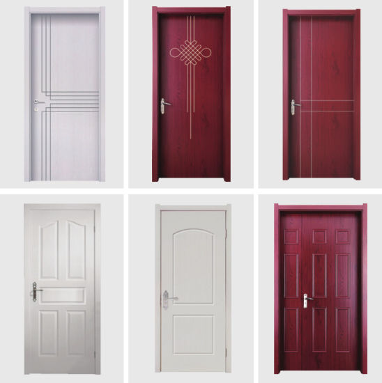China Building Material Waterproof Fire Rated WPC Interior Door with ...