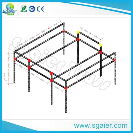 Aluminum Truss Lighting Truss Roof Truss System for Events Stage Truss Stage Equipment pictures & photos