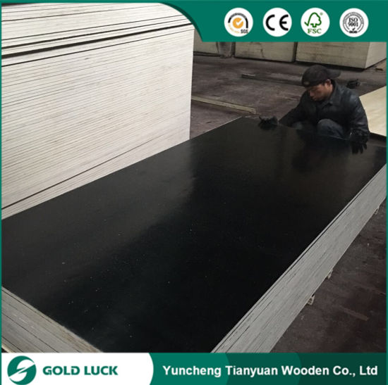 Waterproof Marine Melamine Faced Plywood for Construction 1220X2440mm pictures & photos