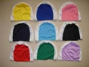 Customized Printing Polyester Swimming Cap pictures & photos