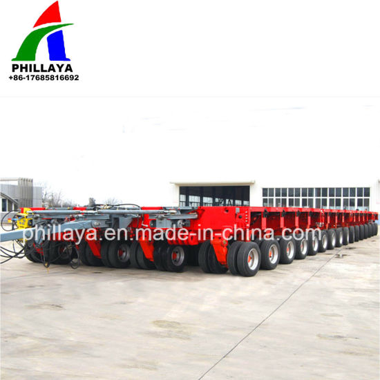 Heavy Haul Modular Trailer Multi Axle Steerable Dollies pictures & photos