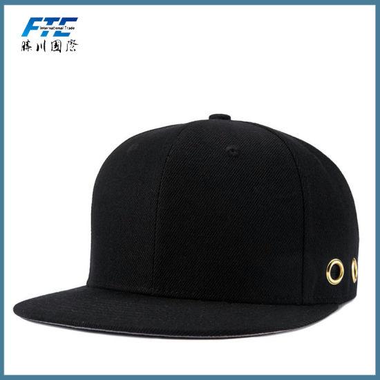 China Mens Custom Metal Plate Snapback Cap with Your Logo - China ... 3b4feeb49b3c