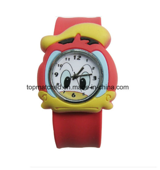 New Design Jelly Slap Bracelet Sport Watch pictures & photos