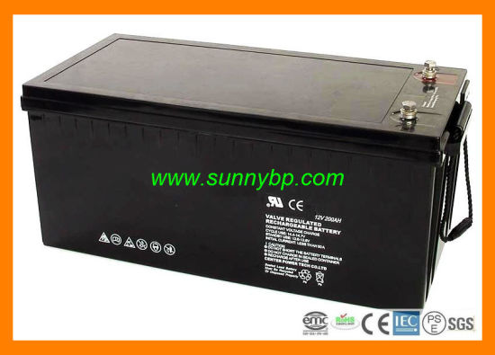 Lead Acid Battery Deep Cycle Solar Battery (12V 100ah/200ah) pictures & photos