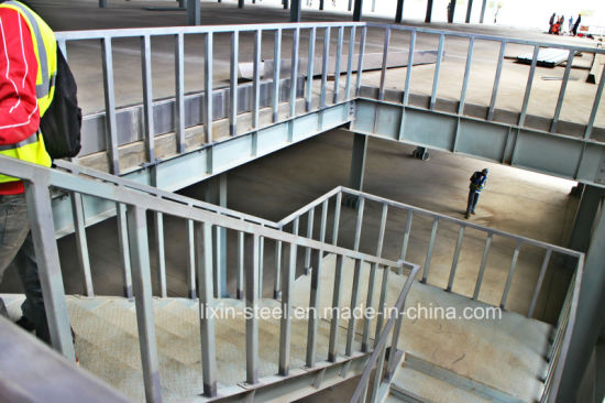 Prefabricated Steel Structure Staircase With Flexible Steel Frame