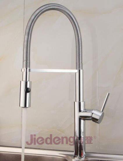 European Style Pull Down Faucet Spring Kitchen Spray Faucet S30