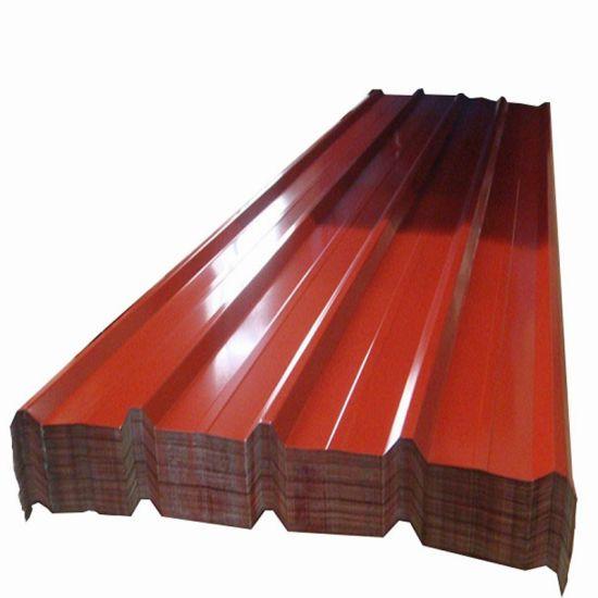 Wave Tile Prepainted Galvanized Corrugated Steel PPGI Roofing Sheet