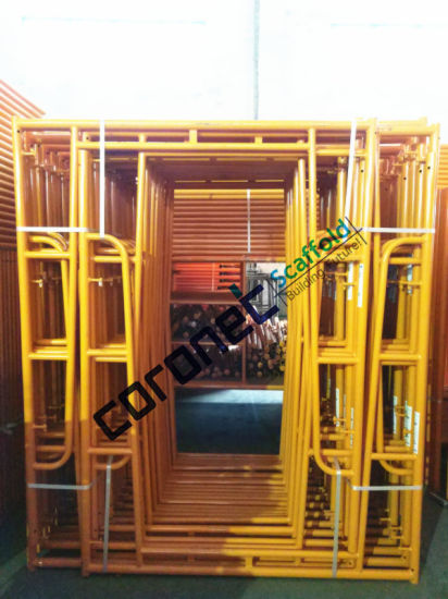 ANSI Certified Walk Thru Frame Scaffold with Flip Lock (CSWT564F) pictures & photos