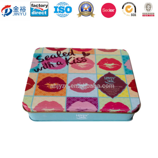 Girls′ Favor Makeup Kits Makeup Storage Tin Box Jy-Wd-2015112713120103 pictures & photos