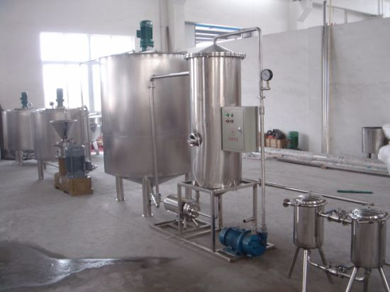 Complete Set Juice Mixing and Packaging Line pictures & photos