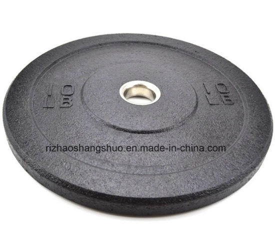 Crosfit Training Crumb Hi-Temp Bumper Rubber Weight Plate pictures & photos