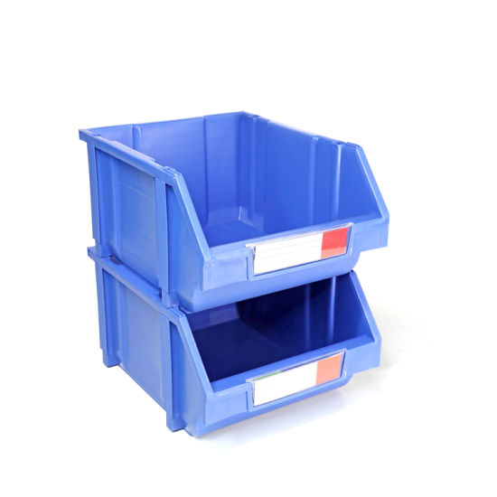High Density Plastic Stackable Bins for Material Handling pictures & photos
