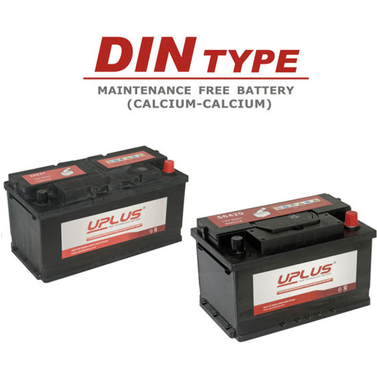 Din Type Auto Starting Battery Car Batteries