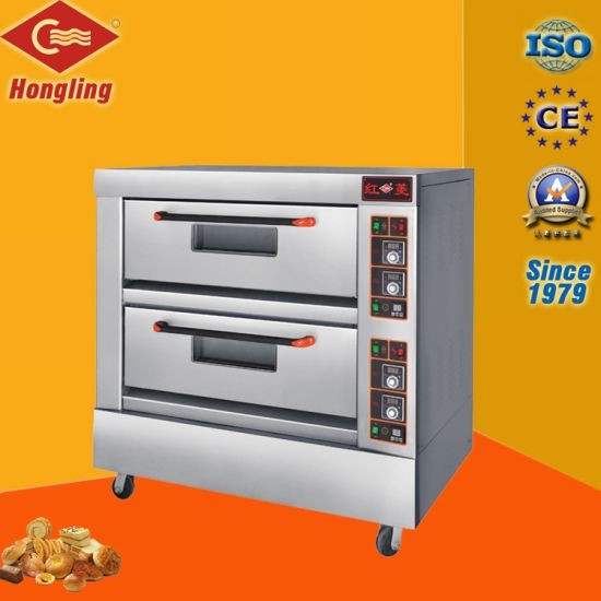 2-Deck 4-Tray Electric Oven Pizza Oven (CE) pictures & photos