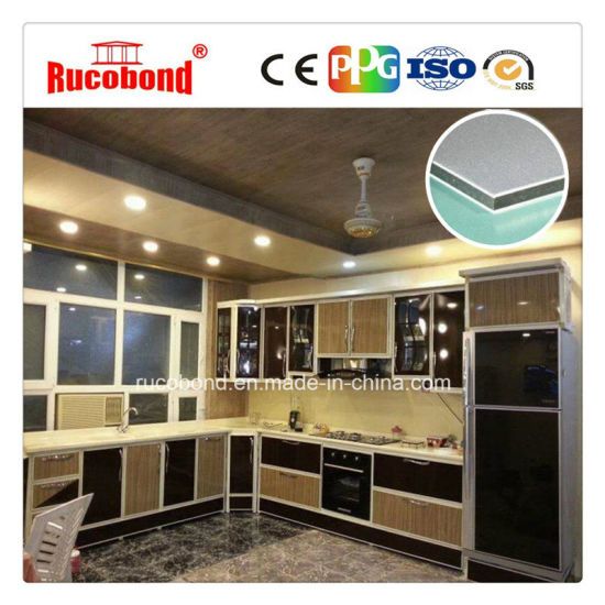 Sandwich Panels Aluminum Composite Panel For Kitchen Cabinet Door