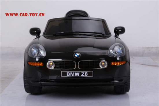 China Licensed Bmw Z8 Kids Electric Car With Ce Black China Ride