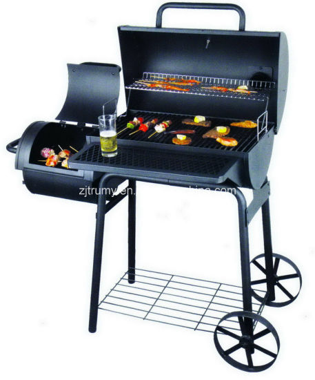 BBQ Smoker Grill with Wheels pictures & photos
