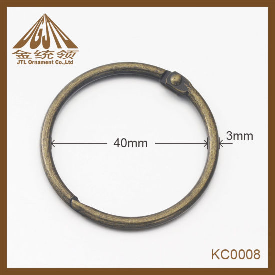 Fashion Nice Quality 38mm Antique Brass Binder Rings Wholesale pictures & photos