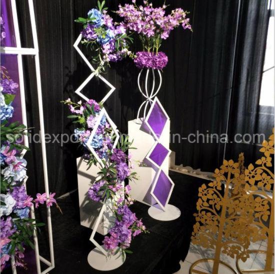 China Iron Art Lollipop Silk Flower Wedding Drops Decoration ...