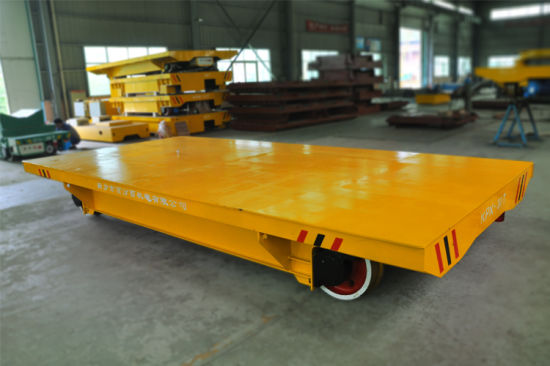 End Stop Busbar Powered Motorized Transfer Trailer pictures & photos