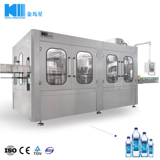 Fully Automatic Pet Bottle Mineral/Pure Water Filling Machine/Bottling Plant/Equipment Price