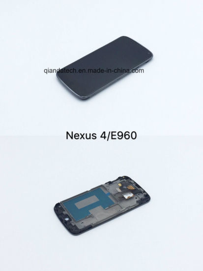 High Quality and Cheap LCD Touch Screen for LG Nexus 4/E960