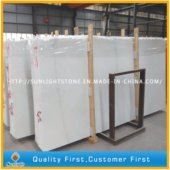 Chinese Snow White Marble Stone Tiles for Wall, Floor, Countertop pictures & photos