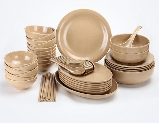 Set 52PCS Rice Husk Fibre Tableware/ Cutlery Sets & China Set 52PCS Rice Husk Fibre Tableware/ Cutlery Sets - China ...
