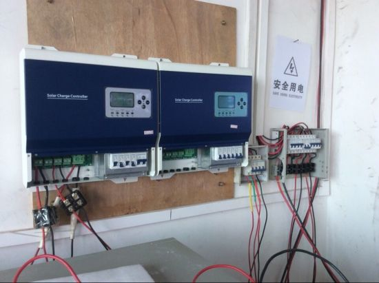 192V/240V/384V High Voltage 50A/100A Solar Charge Controller pictures & photos