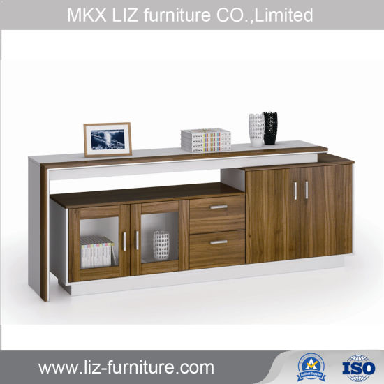 [Hot Item] Modern Style Office Furniture Wood Low Storage Cabinet Credenza  (CB-7419)